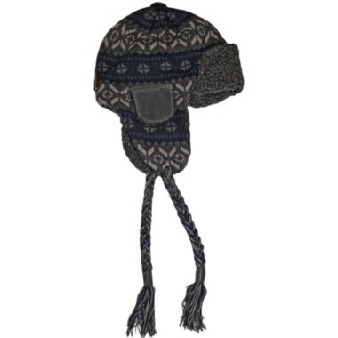 jcpenney.com | MUK LUKS® Sweater Vest Trapper Hat