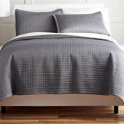 Royal Velvet® Matte Satin Square Coverlet Set & Accessories