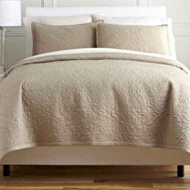 jcpenney.com | Royal Velvet® Medallion 3-pc. Coverlet Set & Accessories