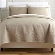 Royal Velvet® Medallion 3-pc. Coverlet Set