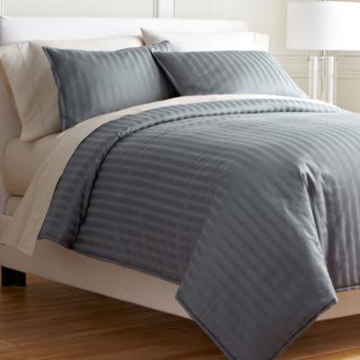 Buy Royal Velvet 174 Damask Stripe Comforter Set