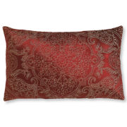 Royal Velvet® Palmetto Red Print Oblong Decorative Pillow