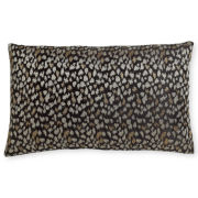 Royal Velvet® Black Print Oblong Decorative Pillow