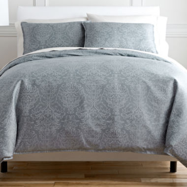 jcpenney.com | Royal Velvet® Damask Duvet Cover Set & Accessories