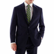 Arrow® Striped Navy Suit Jacket