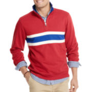 IZOD® Striped French-Rib Sweater