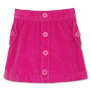 Okie Dokie® Corduroy Skirt - Girls 12m-6y