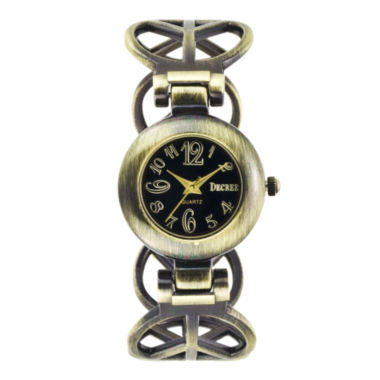 jcpenney.com | Decree Womens Multicolor Bracelet Watch-Dcr12