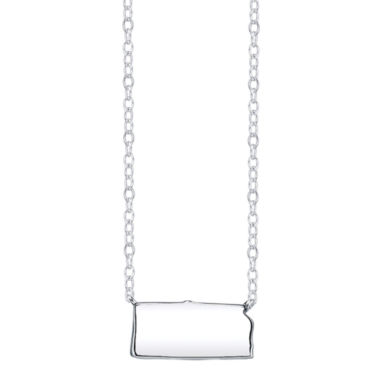jcpenney.com | Footnotes® Sterling Silver Kansas State Necklace