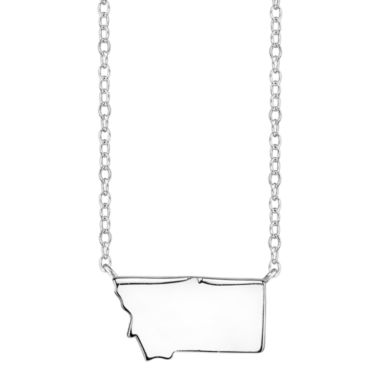 jcpenney.com | Footnotes® Sterling Silver Montana State Necklace