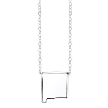 jcpenney.com | Footnotes® Sterling Silver New Mexico State Necklace