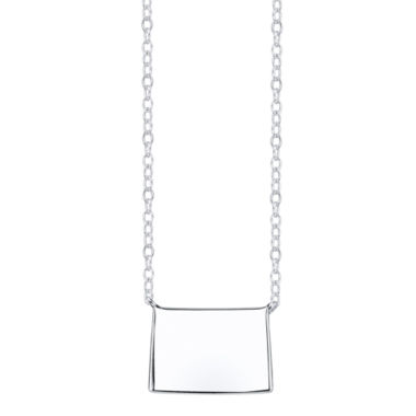jcpenney.com | Footnotes® Sterling Silver Colorado State Necklace