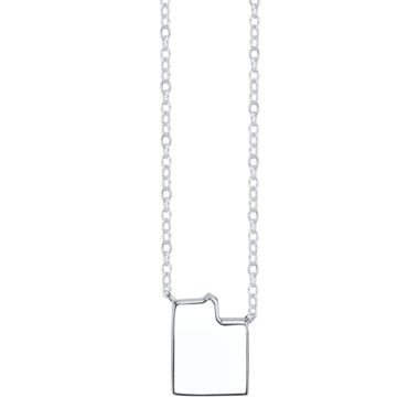 jcpenney.com | Footnotes® Sterling Silver Utah State Necklace