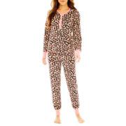 PJ Couture® Long-Sleeve Shirt and Pants Velour Pajama Set