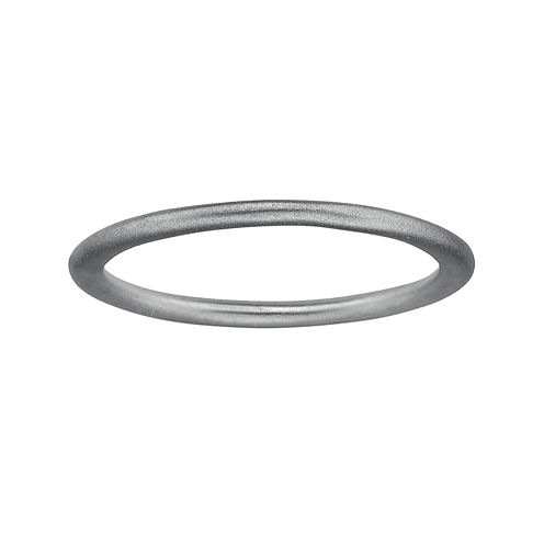 Personally Stackable Sterling Silver Stackable 1.5mm Satin Ring