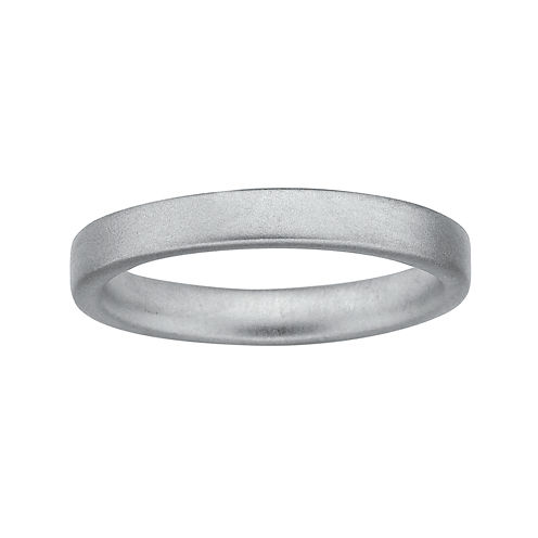 Personally Stackable Sterling Silver Stackable 3.5mm Satin Ring