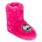Monster High Plush Boot Slippers - Girls
