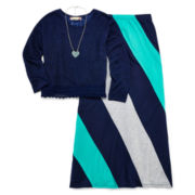 Speechless 2-pc. Top and Chevron Skirt Set - Girls