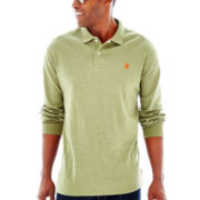 U.S. Polo Assn.® Long-Sleeve Solid Interlock Polo