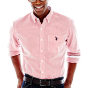 U.S. Polo Assn.® Long-Sleeve Striped Woven Shirt