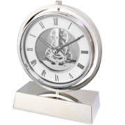 Natico Electro-Mechanical Gear Desk Clock