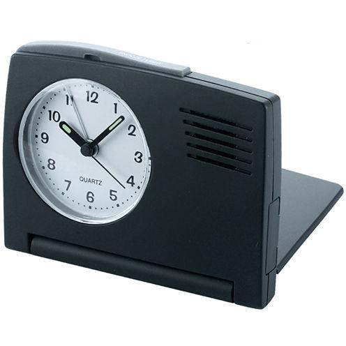 Natico Folding Travel Alarm Clock