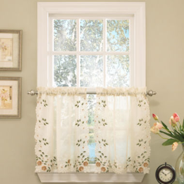 jcpenney.com | Rosemary Rod-Pocket Window Tiers