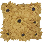 Idea Nuova Sunflower Petals Decorative Pillow