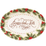 Fitz and Floyd® Baked with Love Christmas Cookie Platter