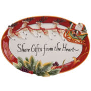 Fitz and Floyd® Regal Holiday Cookie Platter