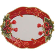 Fitz and Floyd® Regal Holiday Serving Platter