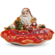 Fitz and Floyd® Regal Holiday Santa Server