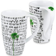Konitz New Day New Luck Set of 2 Mugs