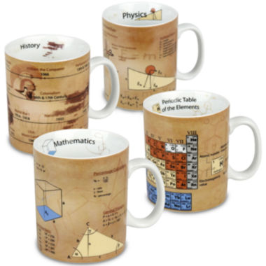 jcpenney.com | Konitz Knowledge I Set of 4 Mugs