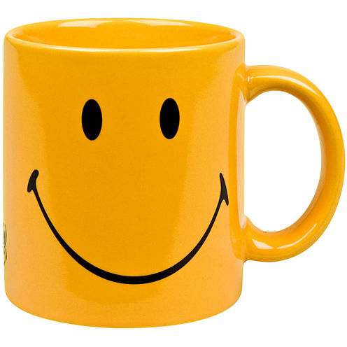 Konitz Smiley Face Set of 4 Mugs