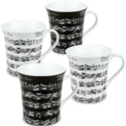 Konitz Vivaldi Libretto Set of 4 Mugs