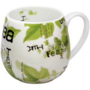 Konitz Tea Collage Set of 4 Snuggle Mug Set