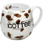 Konitz Coffee Collage Set of 2 Snuggle Mug Set