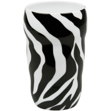 jcpenney.com | Konitz Zebra Set of 2 Double-Walled Grip Mugs