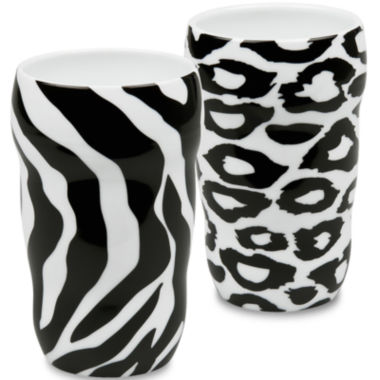 jcpenney.com | Konitz Animal Set of 2 Double-Walled Grip Mugs