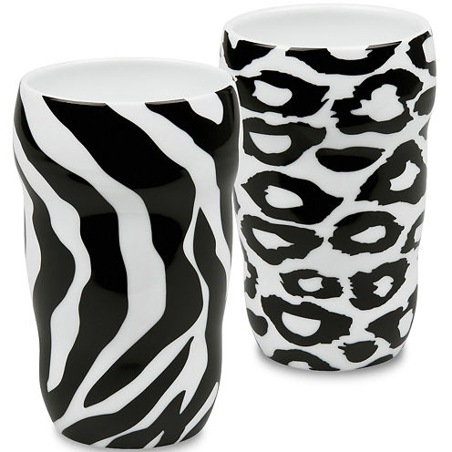Konitz Animal Set of 2 Double-Walled Grip Mugs
