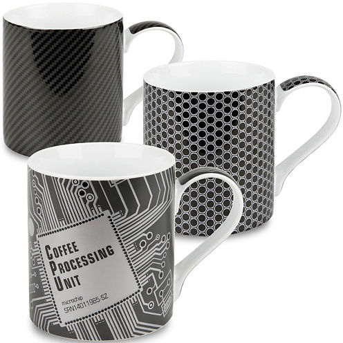 Konitz High-Tech Set of 3 Mugs