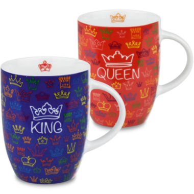 jcpenney.com | Konitz King and Queen Set of 2 Mugs