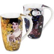 Konitz Gustav Klimt Set of 2 Mugs