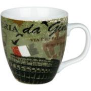 Konitz Cosmopolitan Italy Set of 4 Mugs