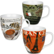 Konitz Cosmopolitan Europe Set of 3 Mugs