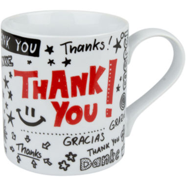 jcpenney.com | Konitz Thank You Set of 4 Mugs