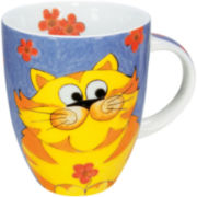 Konitz Cuddle Cat Set of 4 Mugs