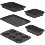 Baker's Secret® Easy Store™ 5-pc. Nonstick Bakeware Set
