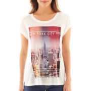 MNG by Mango® New York Screen Tee